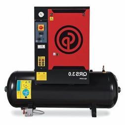CHICAGO PNEUMATIC QRS 3.0 HP-1 TM Rotary Screw Air Comp,3 HP