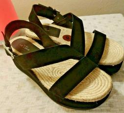 Rag & Bone Women's - Megan Platform Sandal Black Suede - Siz