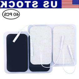 40x Replacement Pads for Massagers EMS Tens Units electrode