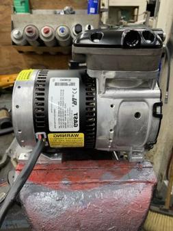GAST Rocking Piston Air Comp,1/4HP,100/100psi, 87R135-101-N2