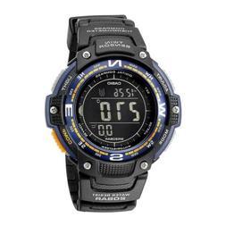 Casio SGW100-2B Smart Watch - Wrist - Altimeter, Barometer,