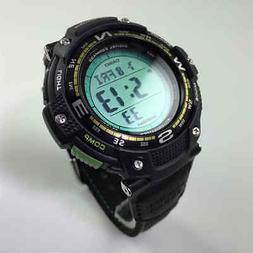 Casio SGW100B-3A2 Smart Watch - Wrist - Altimeter, Barometer