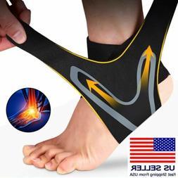 Sport Ankle Support Compression Plantar Fasciitis Sleeve Foo