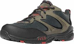 Danner Springfield Low Mens Gray/Red Leather Comp Toe Work S