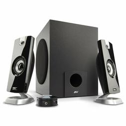 Stereo Music TV Desktop Laptop Computer Speaker System Subwo