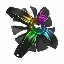 darkFlash Talon Frameless 120mm Gaming Cooling Computer PC R