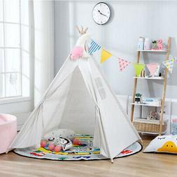 Teepee Play Tent Portable Kids Playhouse Sleeping Backdrop T