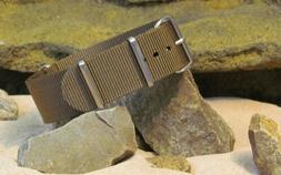 The Ballistic Nylon Strap w/ Brushed Hardware By NATO Strap