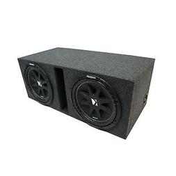 "Universal Car Stereo Vented Port Dual 12"" Kicker Comp C12 Su"