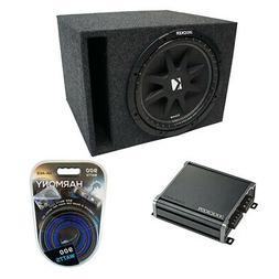 Universal Car Stereo Vented Port Single 12 Kicker Comp C12 S