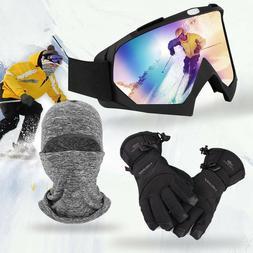 US Snow Goggles Anti-Glare Lens, UV Protection Double Glasse