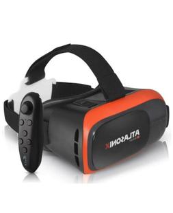 VR Headset Compatible with iPhone and Android Phones   Bonus