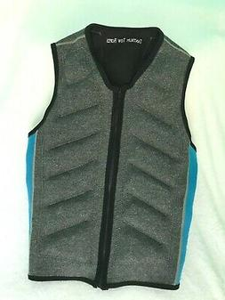 Wakeboard Wakesurf Competition Life Vest Jacket with Zipper