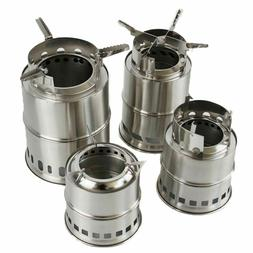 Windproof Light-weight Folding Camping Stoves Manual Metals