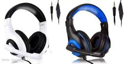 Wired Gaming Headset With Mic Compatible With Ps4, Xbox One,