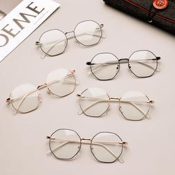 Women and Men Metal Glasses Computer Goggles Gaming Glasses