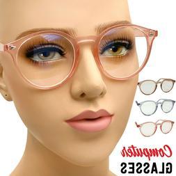Women Computer Glasses Anti UV Reflective Blue Light Ray Rea