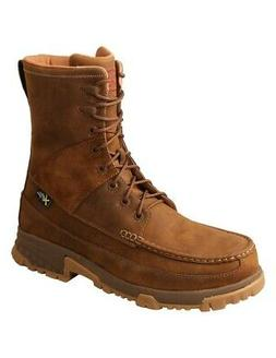 """Twisted X Work Boots Mens 8"""" Composite Toe Lace Saddle MXCCM"""