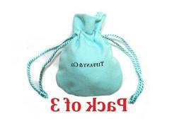 Tiffany & Co. Cloth Suede Drawstring Travel Mini Jewelry Po
