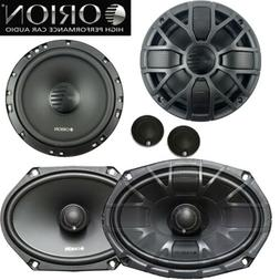 "Orion XTR65.SC + XTR69.2 6.5"" 450W Component and 6x9"" 2-Way"