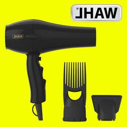 Wahl ZY017 PowerPik 2 Turbo Afro Hair Dryer with Afro Comb P